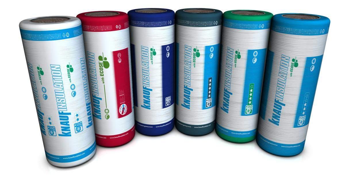 Nouveau look pour les emballages de produits Knauf